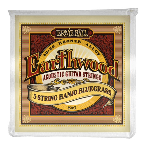 Enc. Ernie Ball Earthwood Banjo 2063 09-20