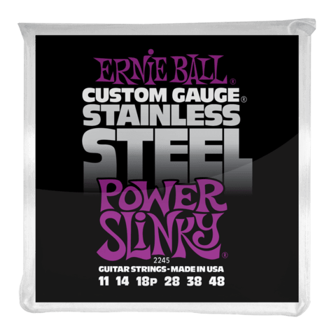 Enc. Ernie Ball Stainless Steel 2245 011-048