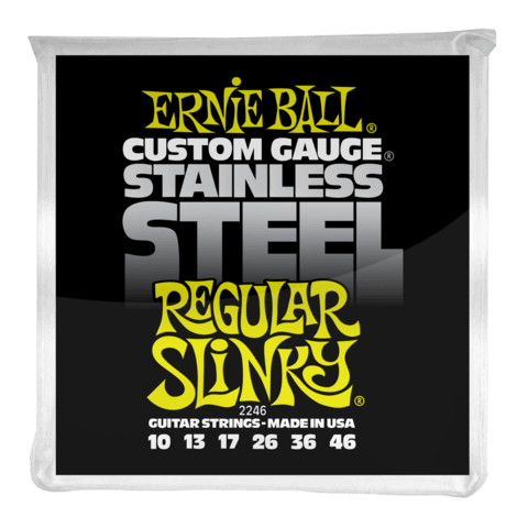 Enc. Ernie Ball Stainless Steel 2246 010-046