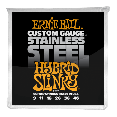 Enc. Ernie Ball Stainless Steel 2247 009-046