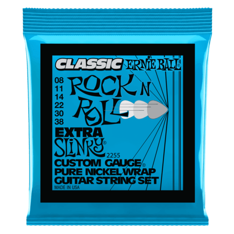 Enc. Ernie Ball Classic Pure Nickel 2255 008-038