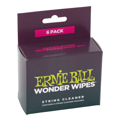 Wonder Wipes Ernie Ball 4277 Cuerdas