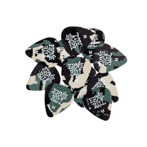 Pœas Ernie Ball CAMOUFLAGE MEDIUM