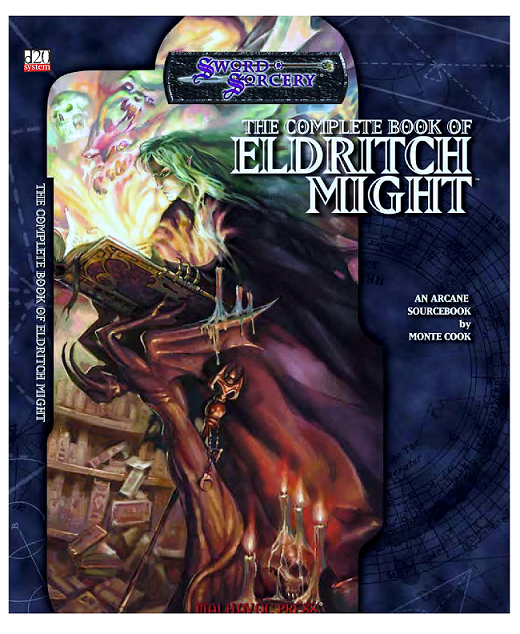 Sword & Sorcery - The Complete Book of Eldritch Might - An Arcane Sourcebook by Monte Cook - D20 - comprar online