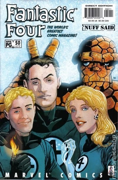 Fantastic Four (1998 3rd Series) #50