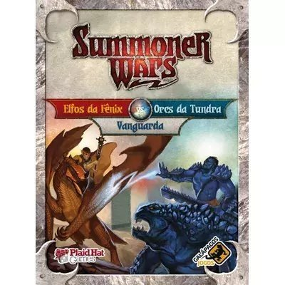 Summoner Wars: Elfos Da Fênix X Orcs Da Tundra  vs Vanguarda