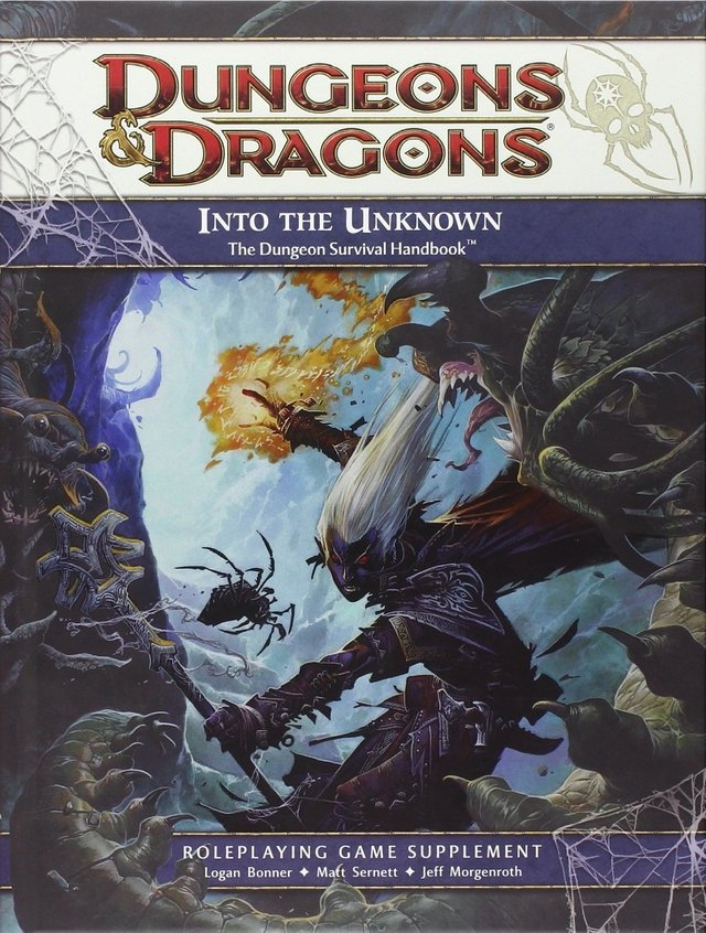 Dungeons & Dragons 4th - Into the Unknown