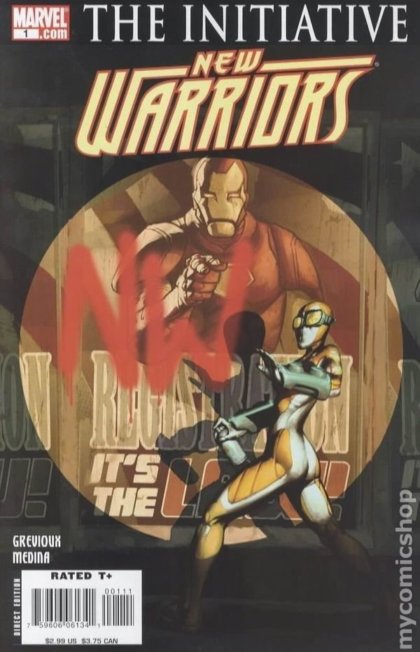 The Initiative New Warriors 1,3-6,9-12 - Marvel