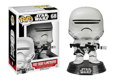 Star Wars VII First Order Flametrooper - Funko Pop!