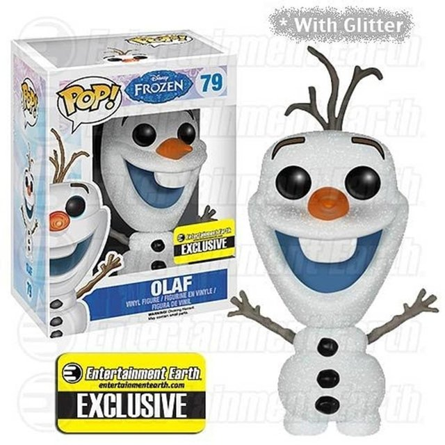 Olaf Frozen  -  Funko Pop!  Exclusivo Enterainment Earth Com Glitter