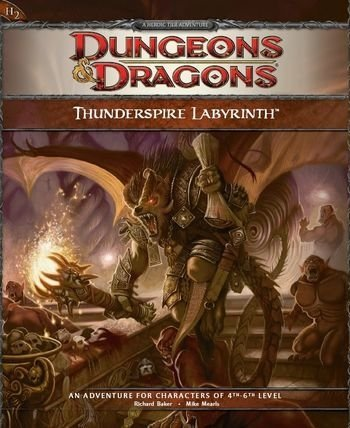 Dungeons & Dragons 4th - Thunderspire Labyrinth Adventure