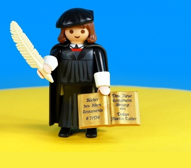 Playmobil Luther - Martinho Lutero (Made in German) na internet