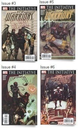 The Initiative New Warriors 1,3-6,9-12 - Marvel - comprar online