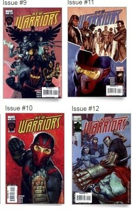 The Initiative New Warriors 1,3-6,9-12 - Marvel na internet