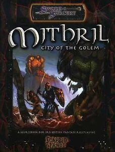 Sword & Sorcery - Mithril: City of the Golem - comprar online