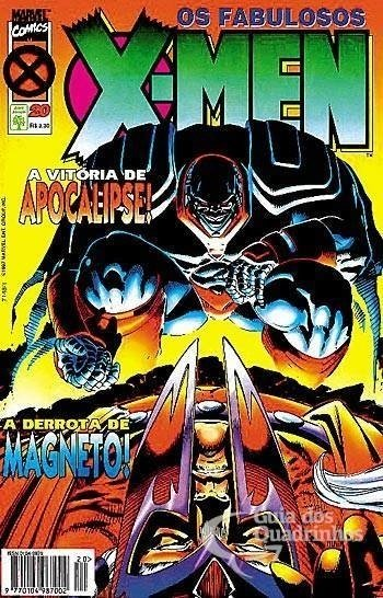 Abril - Os Fabulosos X-Men - Marvel - 20