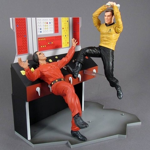 Capitão Kirk Action Figure - Star Trek