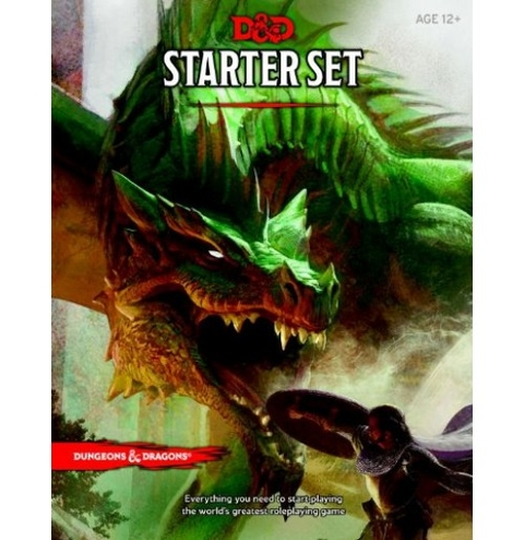 Dungeon & Dragons 5.0 Starter Set Box