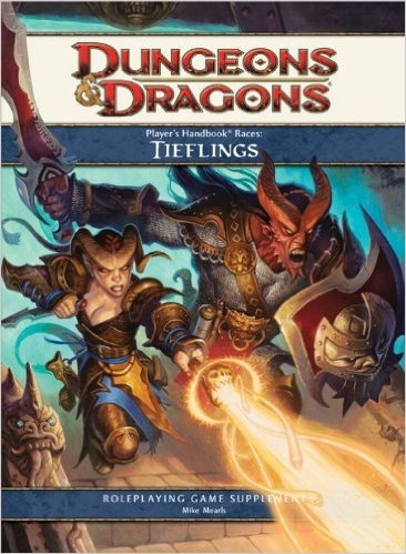 Player's Handbook Races: Tieflings (4th Edition D&D)