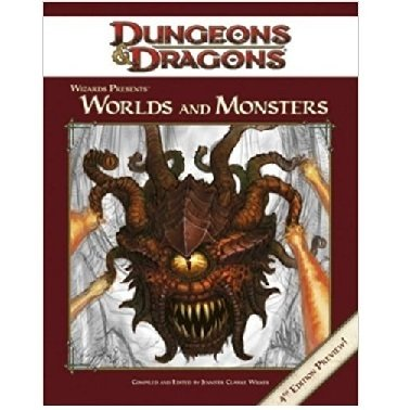 Dungeons & Dragons - Wizards Presents: Worlds and Monsters - comprar online