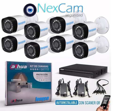 KIT AUTOINSTALABLE 8 CANALES