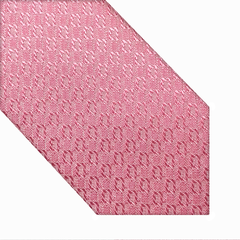 Gravata Super Slim Jacquard Rosa - xhp9Mr9 - Croats Gravataria