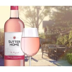 SUTTER HOME WHITE ZINFANDEL 750 ML