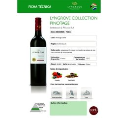 LYNGROVE COLLECTION PINOTAGE 750 ML