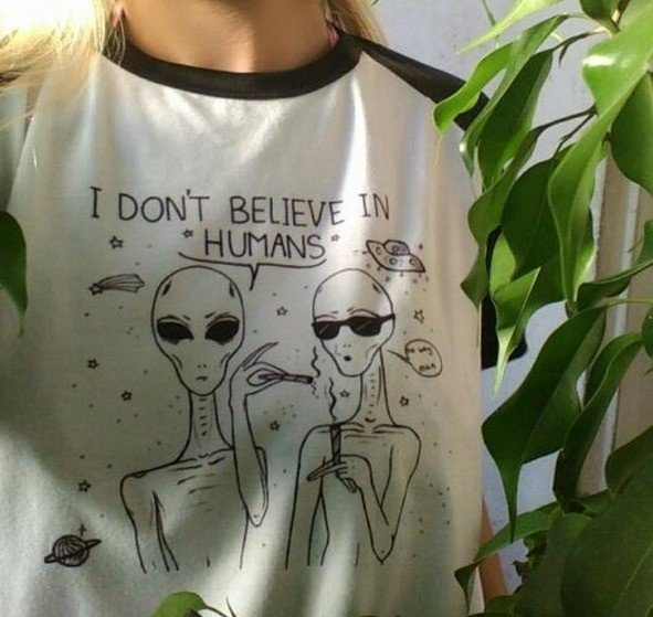 REMERA I Don't Believe in Humans