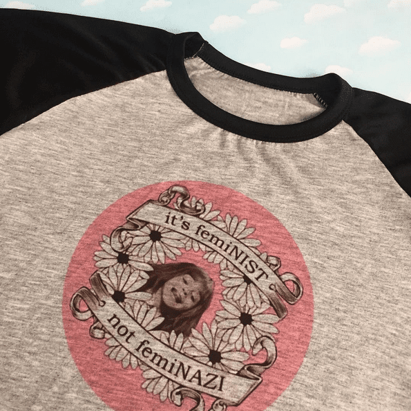 REMERA It´s femINIST, not femiNAZI (Harry Potter)