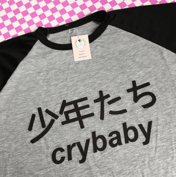 REMERA Crybaby aesthetic