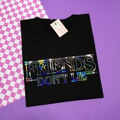 REMERA Friends dont lie - Stranger things
