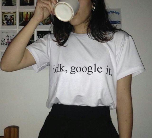 REMERA Idk, google it - comprar online
