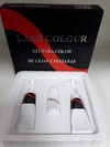 Kit para color de cejas y pestañas. LASH COLOUR.