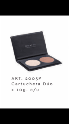 Art. 2005-03 cartuchera duo x10g c/u