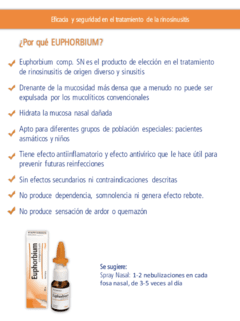 Euphorbium - Spray Nasal Descongestivo en internet