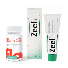 PACK SUPERFLEX: Zeel T Crema 50g y Detox Cell Flex