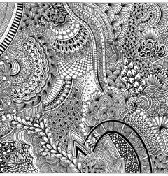 Zentangle :: Lámina mural en internet