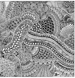 Zentangle :: Lámina mural - Mil Mundos