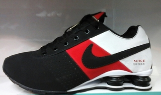 buy online 74420 88623 nike shox deliver vermelho e preto