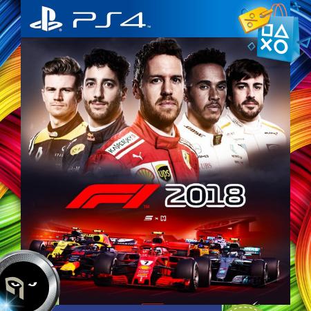 F1 2018 Nuevo Ps4 Fisico Nuevo Amadeus Nexus