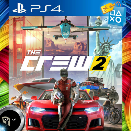 The Crew 2 Ps4 Fisico Nuevo Sellado 16 03 2018