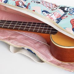 Funda de Ukelele Uke People Acqua - Hula Bags