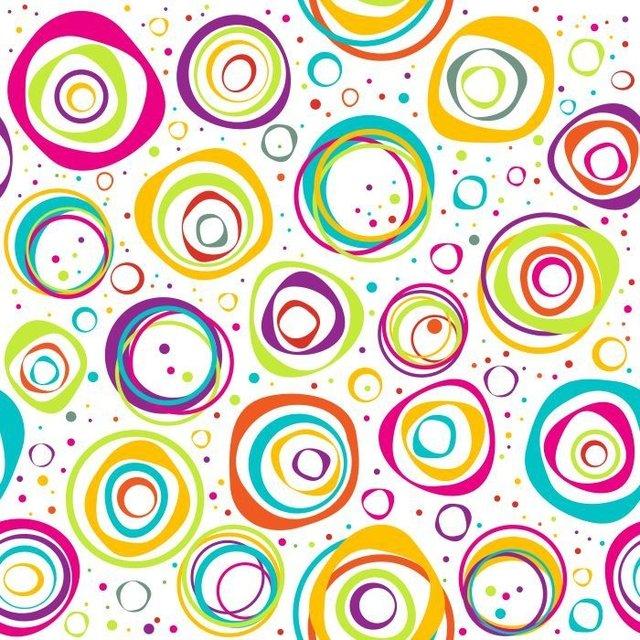 Adesivo De Unhas Para Formatura ~ Papel de Parede Adesivo Círculos Coloridos