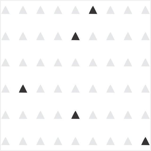 Adesivo De Francesinha Onde Comprar ~ Papel de Parede Adesivo Tri u00e2ngulos Cinza e Preto