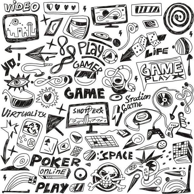 Papel de Parede Adesivo Virtual Game