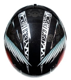 CAPACETE ZEUS 1200 N6 FRIGHT  HI -TECH FIBER - AUTOMOTOS