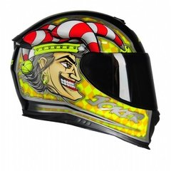 CAPACETE AXXIS EAGLE JOKER - AUTOMOTOS
