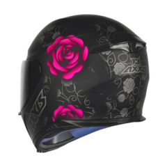 CAPACETE AXXIS EAGLE FLOWERS PF/RS na internet