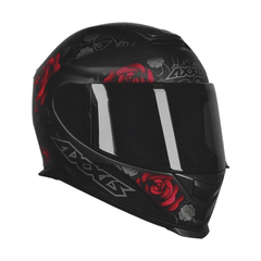 CAPACETE AXXIS EAGLE FLOWERS - AUTOMOTOS